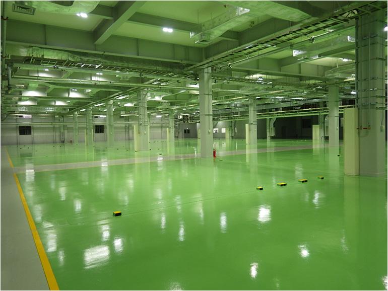 工場LED照明工事