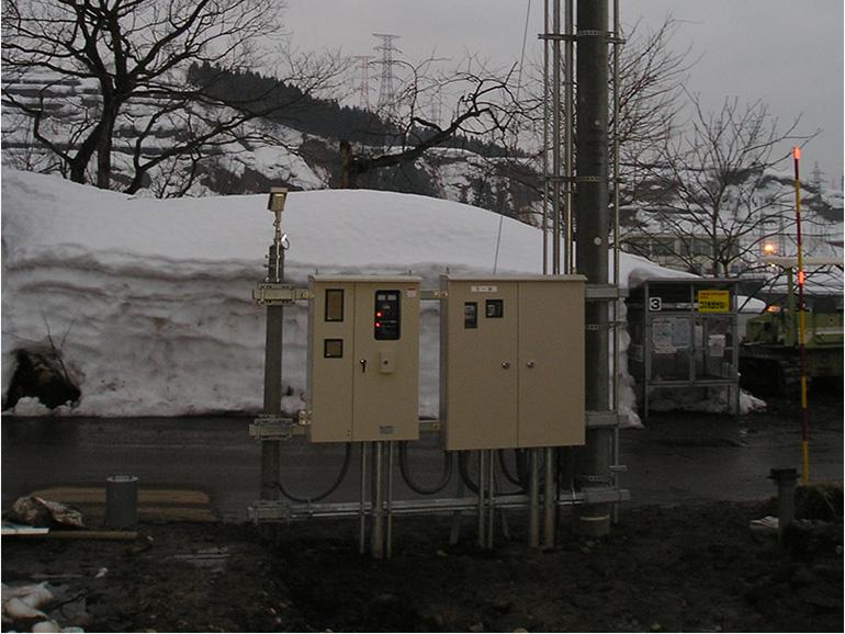 融雪ポンプ電源