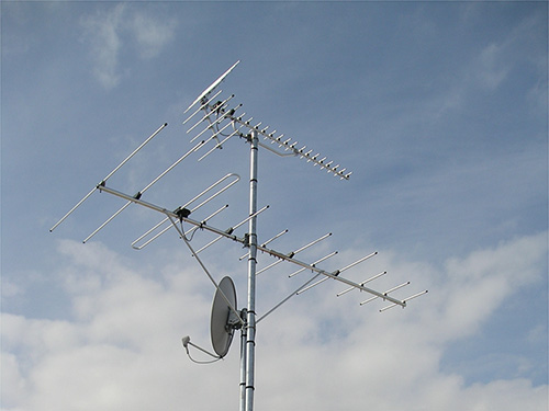 テレビ共聴設備工事